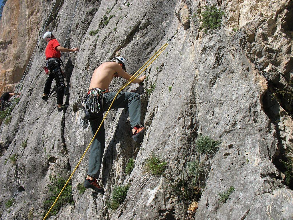 programma di dieta arrampicata su roccia