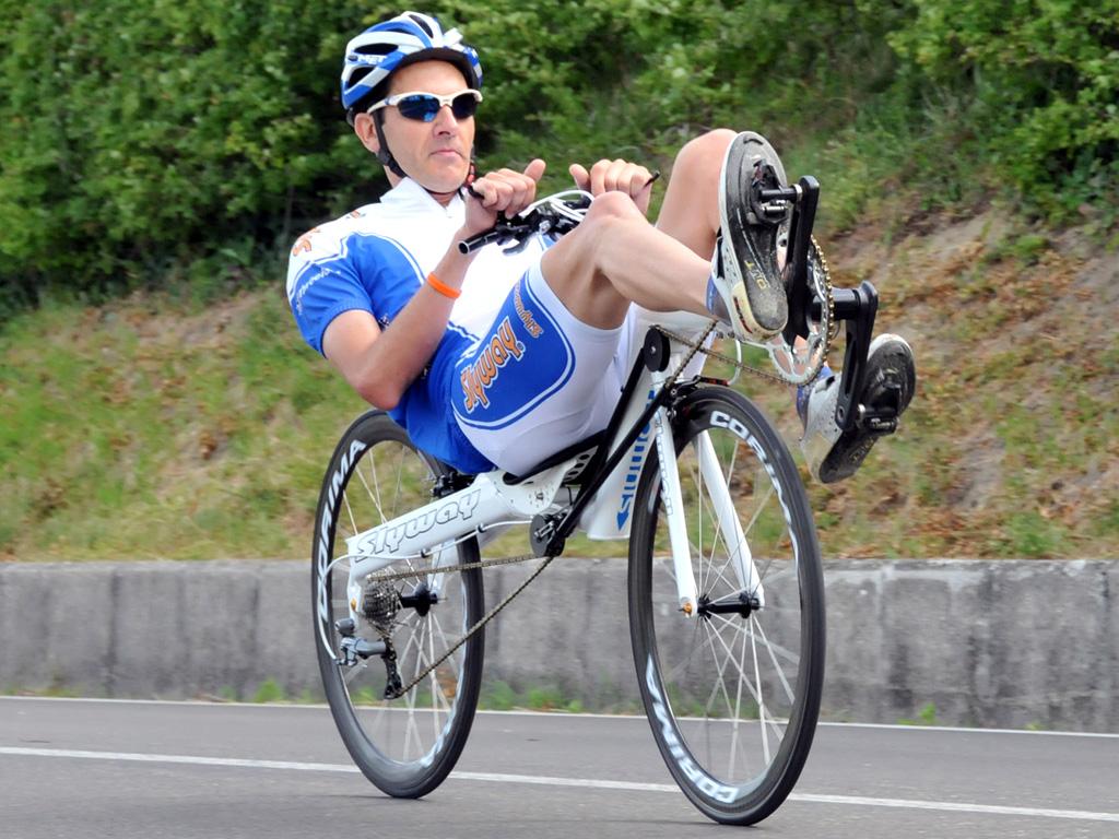 Efficienza Aerodinamica Delle Biciclette Reclinate Test In
