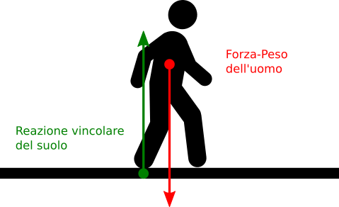 forza-peso-e-reazione-vincolare